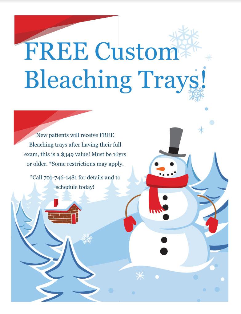 FREE Custom Bleaching Trays